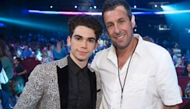 Adam Sandler Pays Tribute to His 'Grown Ups' Son Cameron Boyce at the End of 'Hubie Halloween'