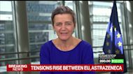 EU's Vestager Says Astra Vaccine Delay Not About Bureaucracy