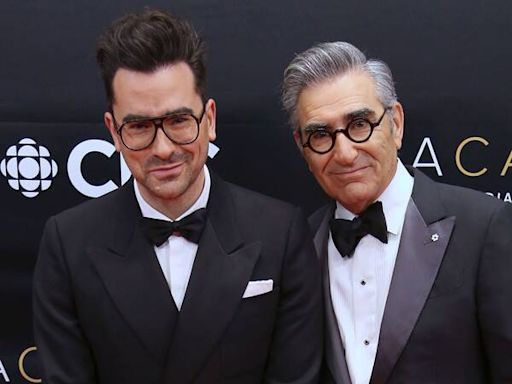 Dan Levy Hilariously Responds to Schitt's Creek Fan Who Falsely Mourned His Dad Eugene's Death