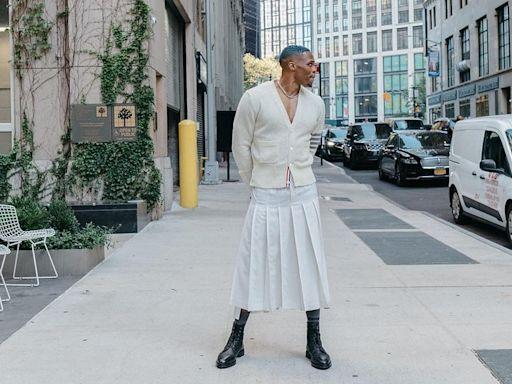 抨擊Westbrook穿裙子 前狀元郎質疑性取向