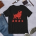 Bold 2021 Year of the Ox Art Style Shirt