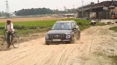 Hyundai Venue挑戰印度爛路 果然硬派休旅神車!