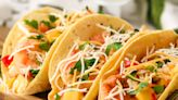 Fried shrimp tacos wrap up a bundle of flavor with juicy mango slaw | Rigsby