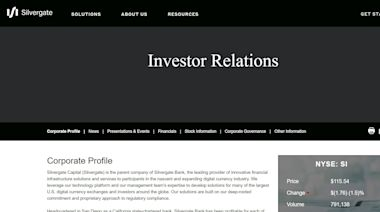 數字貨幣先行者Silvergate Capital是你追求的增長股?