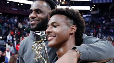 Will LeBron James and son Bronny play together in the NBA?