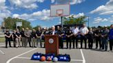 Victory Sports teaming up with Niagara Falls, Niagara County law enforcement agencies to outfit police cars with sports equipment