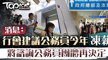 【公務員薪酬】消息:行會建議公務員今年凍薪 將諮詢公務員團體再決定 - 香港經濟日報 - TOPick - 新聞 - 社會
