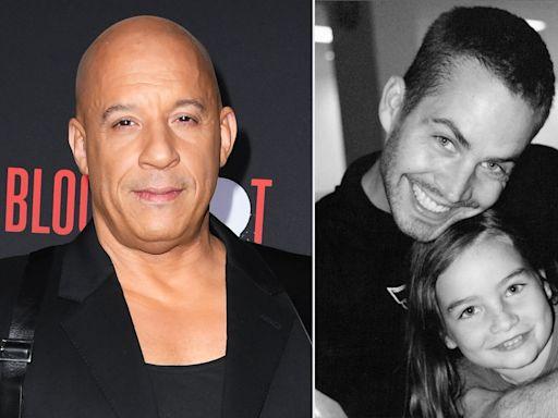 Vin Diesel 'Feels Very Protective' of Paul Walker's Daughter Meadow: 'It Goes Beyond the Movie'