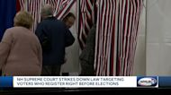 NH Supreme Court strikes down law targeting voters who register right before elections