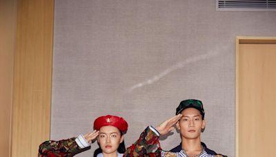設計師周裕穎打造台灣各行業制服設計,奧運金牌舉重女神郭婞淳時髦演繹!郵差、警察、高中生制服都成為創作靈感
