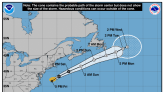Tropical Storm Odette forecast to bring dangerous surf along the East Coast