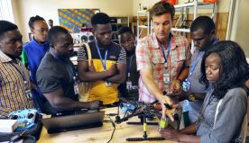 Tech heaven: Drone academy students help map out Africa's future