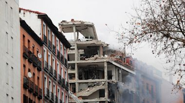 At least two dead as explosion rips through building in Madrid