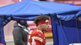 Chiefs QB Patrick Mahomes still in concussion protocol, expected to practice Wednesday