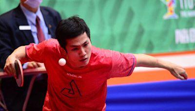從林昀儒手中拿下2局 男單銅牌楊子儀有收穫