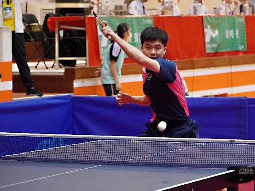 全運會桌球團體賽「東奧國手對決」 莊智淵逆轉勝林昀儒