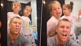 David Warner's Latest TikTok Video With His Daughters Will Make You Go Aww
