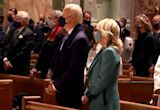 Biden attends church service before inauguration