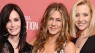 Jennifer Aniston, Courteney Cox & Lisa Kudrow Reunite To Encourage Voting