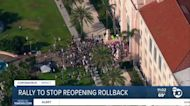 Rally to stop reopening rollback