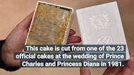 A 40-year-old Piece of Cake From Princess Diana's Wedding Is Going to Auction