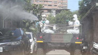 防疫無假期 化學兵堅守抗疫戰線