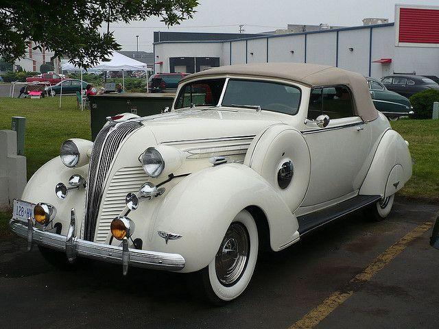 1937 Hudson Terraplane Convertible....elegant, striking and bold...