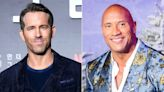 Ryan Reynolds Jokingly Responds to Dwayne Johnson Ripping His Own Front Gate Off