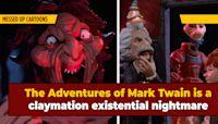 The Most Horrific Kids' Cartoon ... Is Claymation Mark Twain?