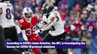 NFL investigating Ravens for COVID-19 protocol violations