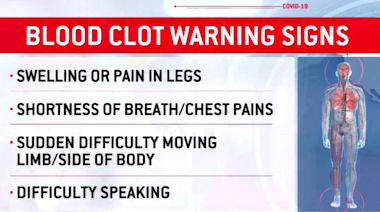 Doctors warn of potentially deadly blood clots in COVID-19 patients
