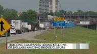 Trucking companies losing millions of dollars amid 'nightmare' Memphis bridge closure