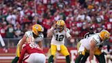 Packers' makeshift OL withstands a treacherous test in Santa Clara