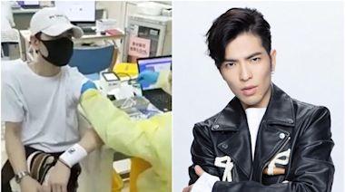 新冠疫苗 蕭敬騰昨於上海接種第二針疫苗 多位台藝人已在陸打針