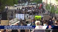 Police reform still moving forward 1 year after killing of George Floyd