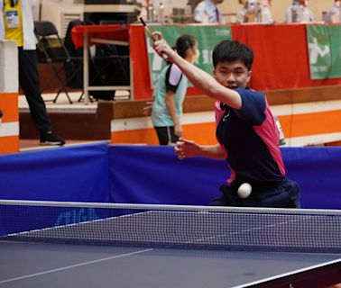 桌球/小林同學坐鎮 台北市輕鬆闖全運會4強