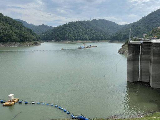 水啦!石門水庫蓄水率時隔百日重返半庫 蓄水量也破億