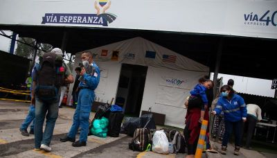 Colombian shelters prepare for migrant influx as Venezuela reopens border