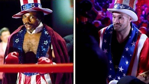 Tyson Fury channels his inner Apollo Creed in Las Vegas defeat of Tom Schwarz