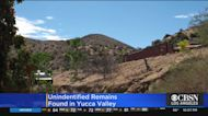 Human Remains Discovered In Yucca Valley