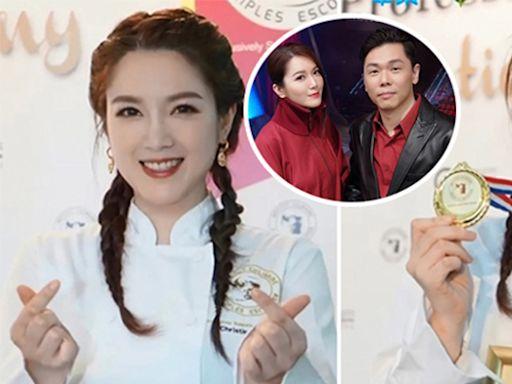 苟芸慧烹飪文憑畢業 老公陸漢洋依然不見蹤影 - 娛樂放題 - 娛樂追擊