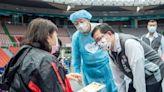 鄭文燦視察桃園巨蛋疫苗接種站 貼心提醒市民多休息、喝水   蕃新聞