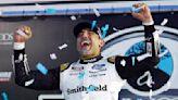 Auto racing roundup: Aric Almirola surprise winner of NASCAR race in New Hampshire