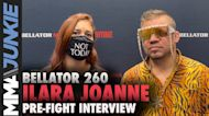 Returning from injury, 'Arya Stark' Ilara Joanne eager to cross name off list | Bellator 260