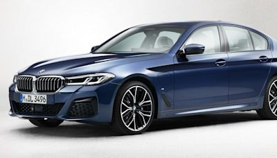Pictures of the Refreshed 2021 BMW 5-Series Have Leaked Online