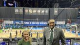 Michigan native Lisa Byington becomes first woman to land full-time play-by-play job in major men's sports