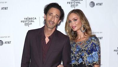 Adrien Brody and Girlfriend Georgina Chapman Make Their Red Carpet Debut at Tribeca Film Festival