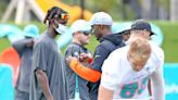 Dolphins' WRs managing injuries. Not optimal, but it opens door for a couple of surprises