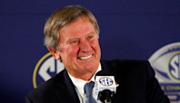 Steve Spurrier on Texas moving to SEC: Longhorns 'can't win the Big 12 anyway'