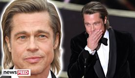 Brad Pitt Gives Shoutout To Kids After Oscars Win!